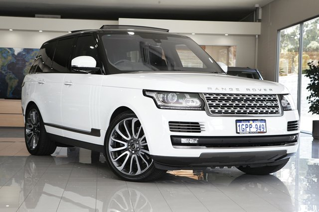 Used Land Rover Range Rover SDV8 Autobiography, Cannington, 2016 Land Rover Range Rover SDV8 Autobiography Wagon