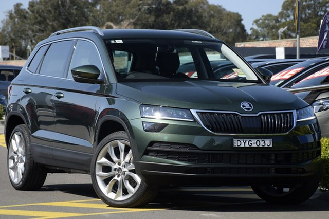 Discounted Demonstrator, Demo, Near New Skoda Karoq 110TSI DSG FWD, Southport, 2018 Skoda Karoq 110TSI DSG FWD Wagon