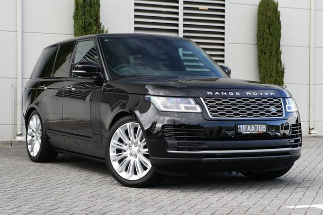 Demonstrator, Demo, Near New Land Rover Range Rover SDV8 Vogue SE, Cannington, 2018 Land Rover Range Rover SDV8 Vogue SE Wagon