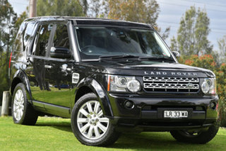 2013 Land Rover Discovery 4 SDV6 HSE Wagon.