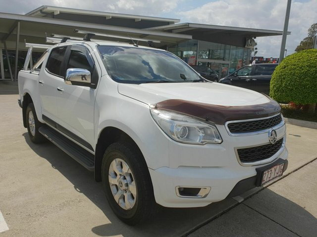 Discounted Used Holden Colorado LTZ Crew Cab 4x2, Yamanto, 2013 Holden Colorado LTZ Crew Cab 4x2 Utility