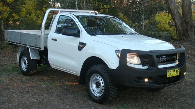 Used Ford Ranger XL, Queanbeyan, 2014 Ford Ranger XL Cab Chassis