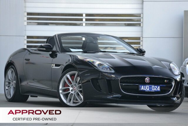 Discounted Used Jaguar F-TYPE S, Gardenvale, 2014 Jaguar F-TYPE S Convertible