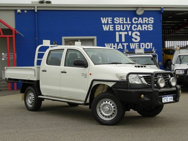 Used Toyota Hilux SR Double Cab, Welshpool, 2015 Toyota Hilux SR Double Cab Cab Chassis