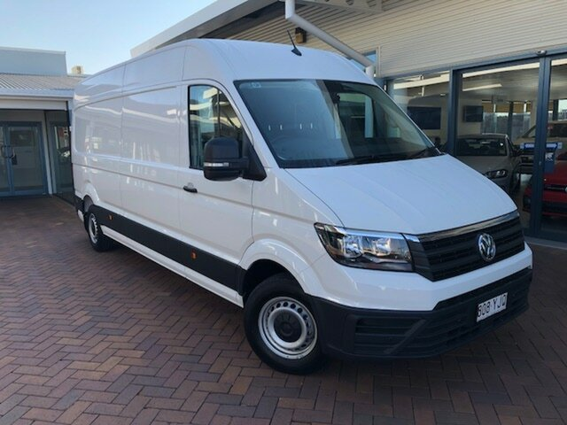 Discounted Demonstrator, Demo, Near New Volkswagen Crafter 35 High Roof LWB TDI410, Toowoomba, 2018 Volkswagen Crafter 35 High Roof LWB TDI410 Van