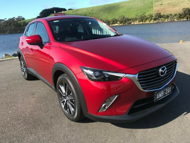 Demonstrator, Demo, Near New Mazda CX-3 sTouring SKYACTIV-Drive, Warrnambool East, 2018 Mazda CX-3 sTouring SKYACTIV-Drive Wagon