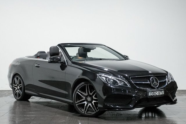Used Mercedes-Benz E250 7G-Tronic +, Rozelle, 2015 Mercedes-Benz E250 7G-Tronic + Cabriolet