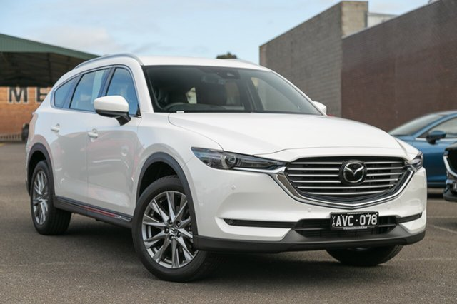 Demonstrator, Demo, Near New Mazda CX-8 Asaki (awd), Mulgrave, 2018 Mazda CX-8 Asaki (awd) KG MY18 Wagon