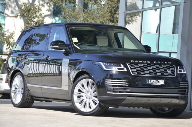 Demonstrator, Demo, Near New Land Rover Range Rover SDV8 Autobiography, Port Melbourne, 2018 Land Rover Range Rover SDV8 Autobiography Wagon