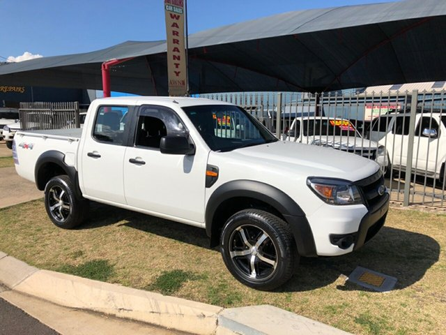 Used Ford Ranger XL (4x4), Toowoomba, 2010 Ford Ranger XL (4x4) Dual Cab Pick-up