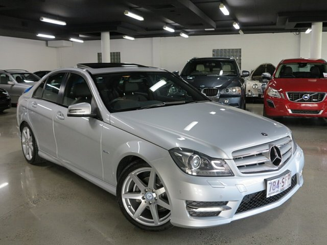 Used Mercedes-Benz C200 BlueEFFICIENCY 7G-Tronic +, Albion, 2012 Mercedes-Benz C200 BlueEFFICIENCY 7G-Tronic + Sedan