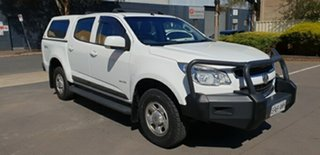 2013 Holden Colorado LX (4x4) Crew Cab Pickup.