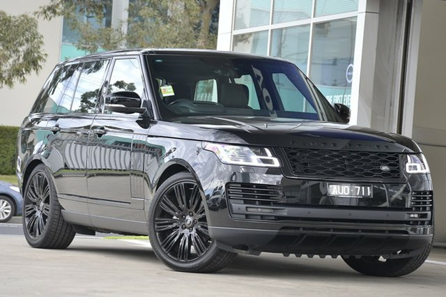 Used Land Rover Range Rover TDV6 Vogue, Port Melbourne, 2018 Land Rover Range Rover TDV6 Vogue Wagon