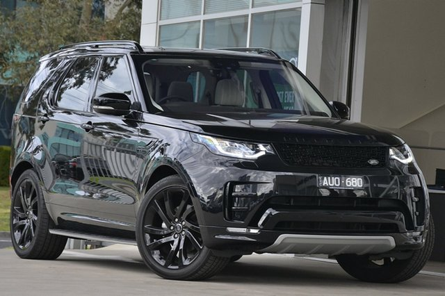Demonstrator, Demo, Near New Land Rover Discovery TD6 HSE Luxury, Port Melbourne, 2018 Land Rover Discovery TD6 HSE Luxury Wagon