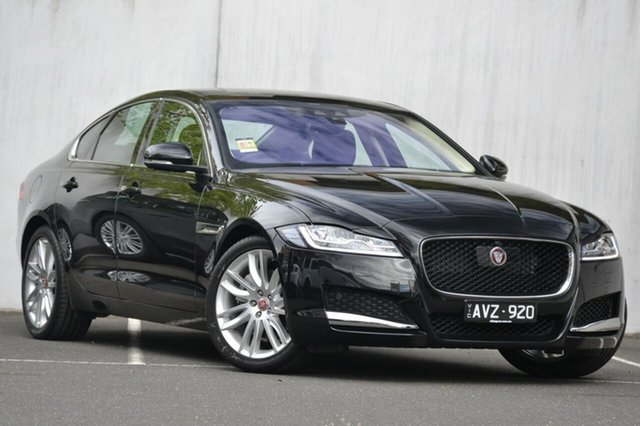 Demonstrator, Demo, Near New Jaguar XF 25d Portfolio, Malvern, 2017 Jaguar XF 25d Portfolio Sedan