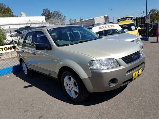 Used Ford Territory TS AWD, Campbelltown, 2008 Ford Territory TS AWD Wagon