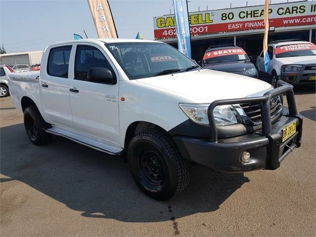 Used Toyota Hilux SR Double Cab, Campbelltown, 2012 Toyota Hilux SR Double Cab Utility