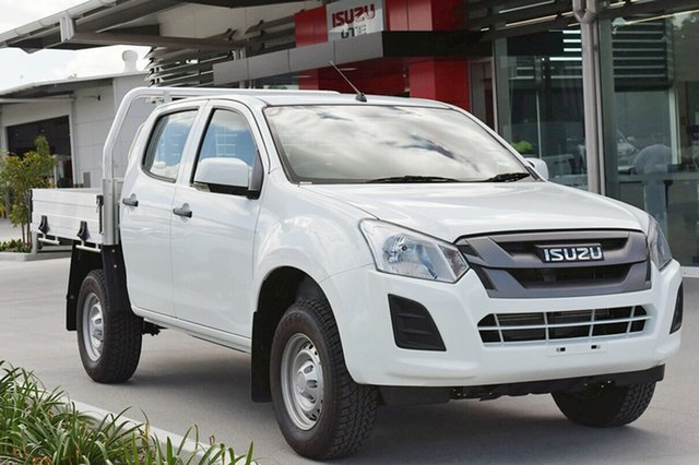 New Isuzu D-MAX SX Crew Cab 4x2 High Ride, Southport, 2018 Isuzu D-MAX SX Crew Cab 4x2 High Ride Cab Chassis