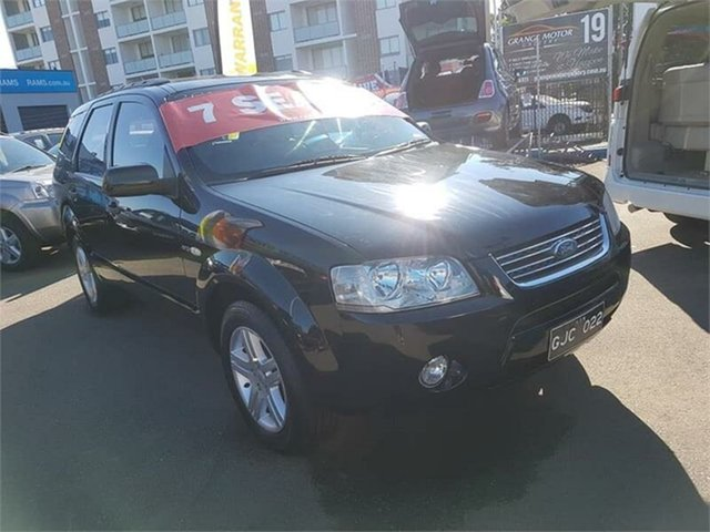 Used Ford Territory Ghia AWD, Campbelltown, 2005 Ford Territory Ghia AWD Wagon