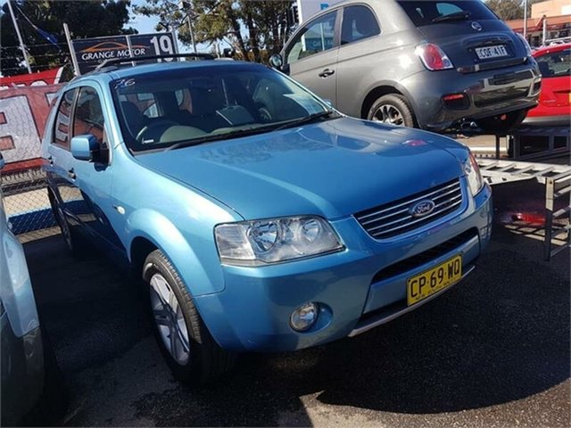 Used Ford Territory Ghia AWD, Campbelltown, 2006 Ford Territory Ghia AWD Wagon