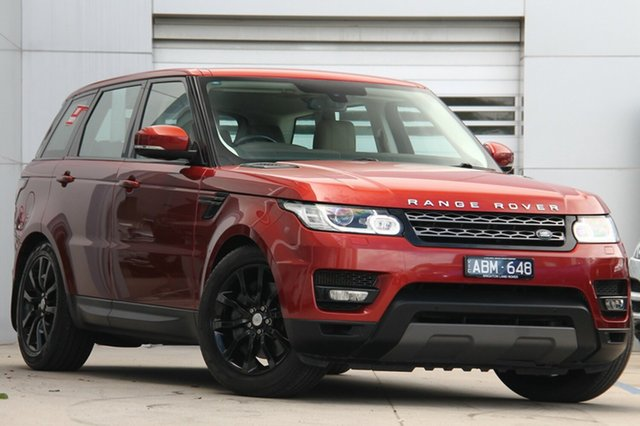 Discounted Used Land Rover Range Rover Sport TdV6 CommandShift SE, Gardenvale, 2014 Land Rover Range Rover Sport TdV6 CommandShift SE Wagon