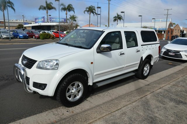 Used Great Wall V200 (4x2), Toowoomba, 2013 Great Wall V200 (4x2) Dual Cab Utility