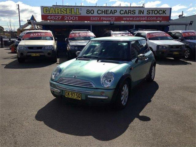 Used Mini Hatch Cooper, Campbelltown, 2002 Mini Hatch Cooper Hatchback