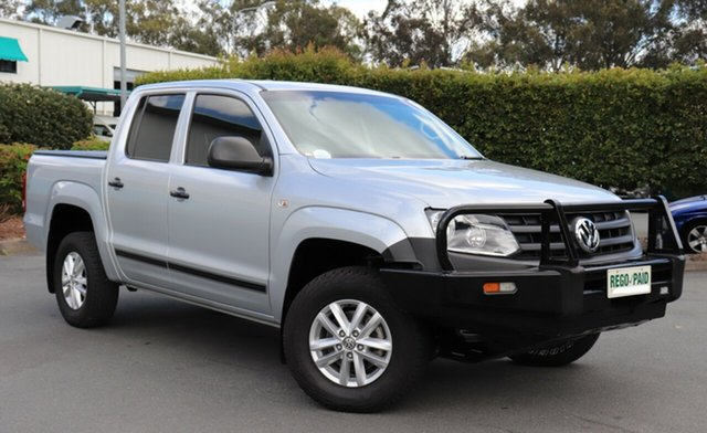 Discounted Used Volkswagen Amarok TDI420 4Motion Perm, Acacia Ridge, 2014 Volkswagen Amarok TDI420 4Motion Perm 2H MY14 Utility