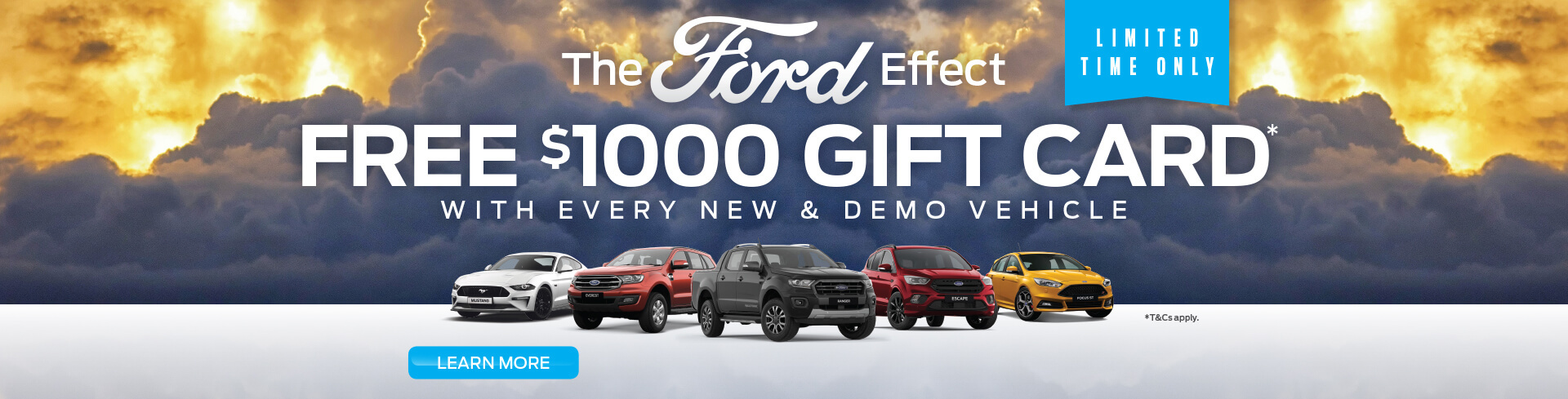 The Ford Effect | Free $1000 Gift Card*