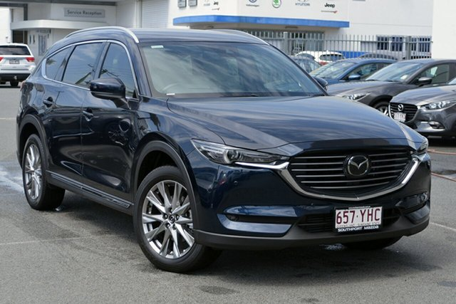 Demonstrator, Demo, Near New Mazda CX-8, Southport, 2018 Mazda CX-8 Wagon