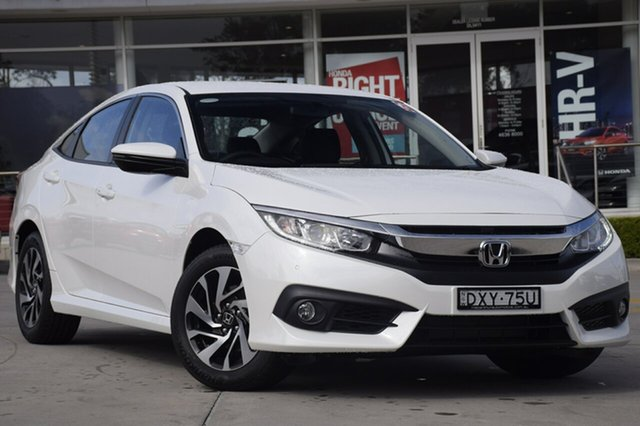 Discounted Demonstrator, Demo, Near New Honda Civic VTi-S, Southport, 2018 Honda Civic VTi-S Sedan