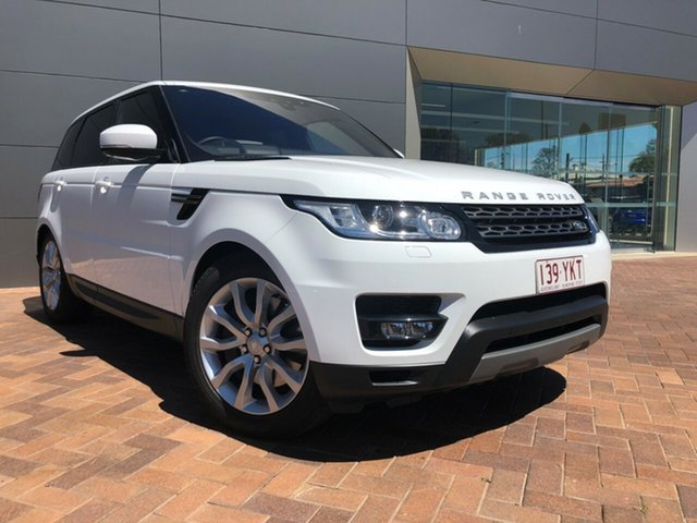 Discounted Used Land Rover Range Rover Sport SDV6 CommandShift SE, Toowoomba, 2017 Land Rover Range Rover Sport SDV6 CommandShift SE Wagon