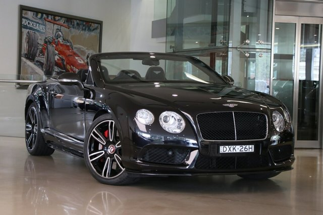 Used Bentley Continental GTC V8, Waterloo, 2013 Bentley Continental GTC V8 Convertible