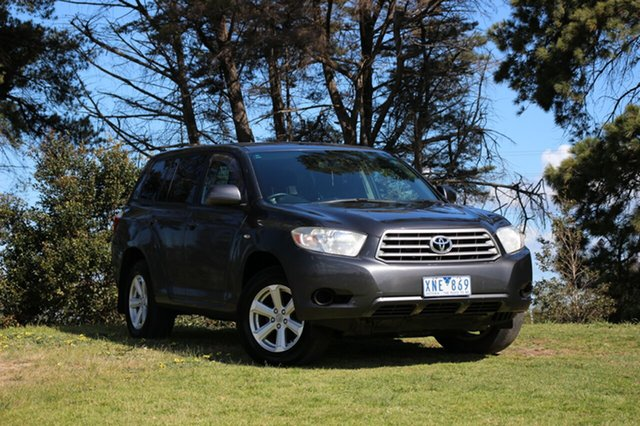 Used Toyota Kluger KX-R 2WD, Officer, 2010 Toyota Kluger KX-R 2WD Wagon