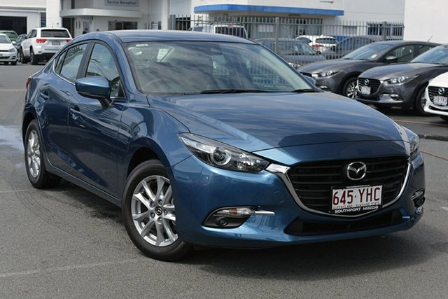 Demonstrator, Demo, Near New Mazda 3, Southport, 2018 Mazda 3 Sedan