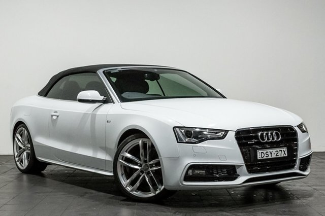 Used Audi A5 S tronic quattro, Rozelle, 2016 Audi A5 S tronic quattro Cabriolet