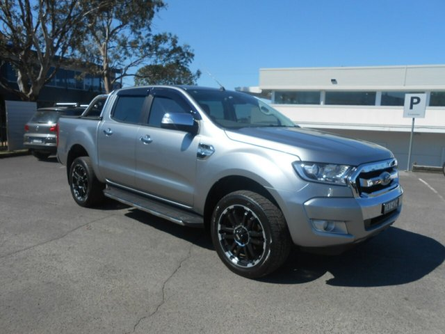 Used Ford Ranger XLT Double Cab 4x2 Hi-Rider, Nowra, 2015 Ford Ranger XLT Double Cab 4x2 Hi-Rider Utility
