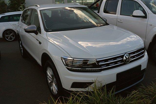 Demonstrator, Demo, Near New Volkswagen Tiguan 132TSI Comfortline DSG 4MOTION Allspace, Southport, 2018 Volkswagen Tiguan 132TSI Comfortline DSG 4MOTION Allspace Wagon