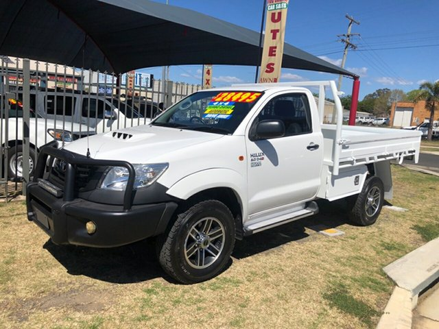 Used Toyota Hilux Workmate (4x4), Toowoomba, 2011 Toyota Hilux Workmate (4x4) Cab Chassis
