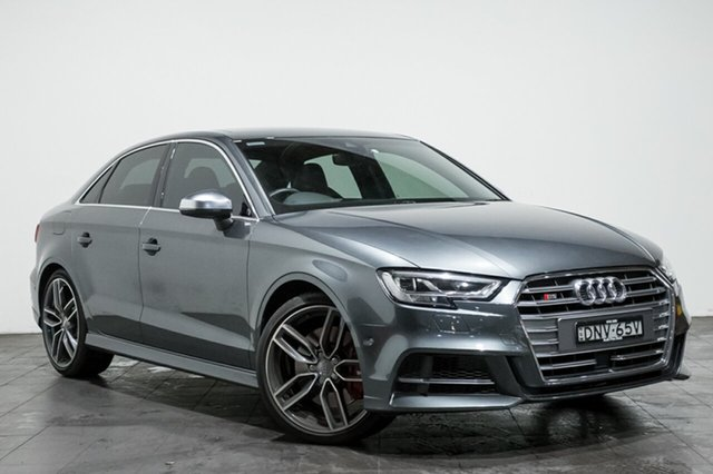 Used Audi S3 S tronic quattro, Rozelle, 2017 Audi S3 S tronic quattro Sedan