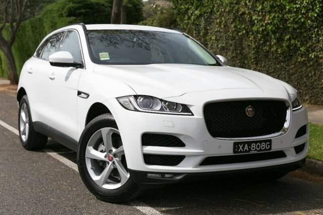Demonstrator, Demo, Near New Jaguar F-PACE 25t AWD Prestige, Hawthorn, 2017 Jaguar F-PACE 25t AWD Prestige Wagon