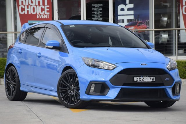 Used Ford Focus RS AWD, Narellan, 2016 Ford Focus RS AWD Hatchback