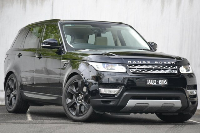 Used Land Rover Range Rover Sport SDV6 HEV CommandShift HSE, Malvern, 2015 Land Rover Range Rover Sport SDV6 HEV CommandShift HSE Wagon