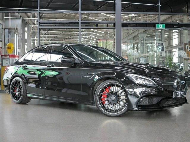 Used Mercedes-Benz C63 AMG SPEEDSHIFT MCT S, North Melbourne, 2016 Mercedes-Benz C63 AMG SPEEDSHIFT MCT S Sedan