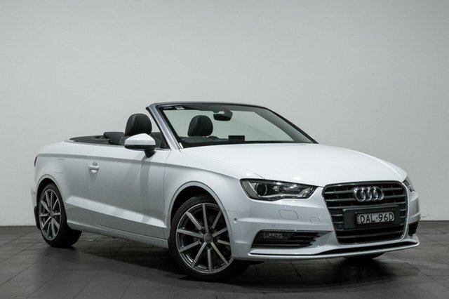 Used Audi A3 Ambition S tronic, Rozelle, 2015 Audi A3 Ambition S tronic Cabriolet