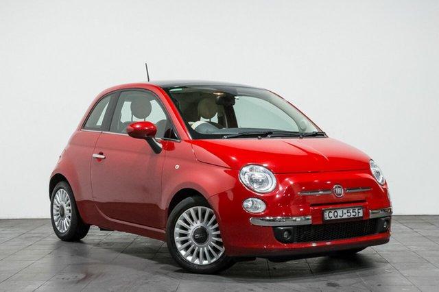 Used Fiat 500 Lounge Dualogic, Rozelle, 2013 Fiat 500 Lounge Dualogic Hatchback