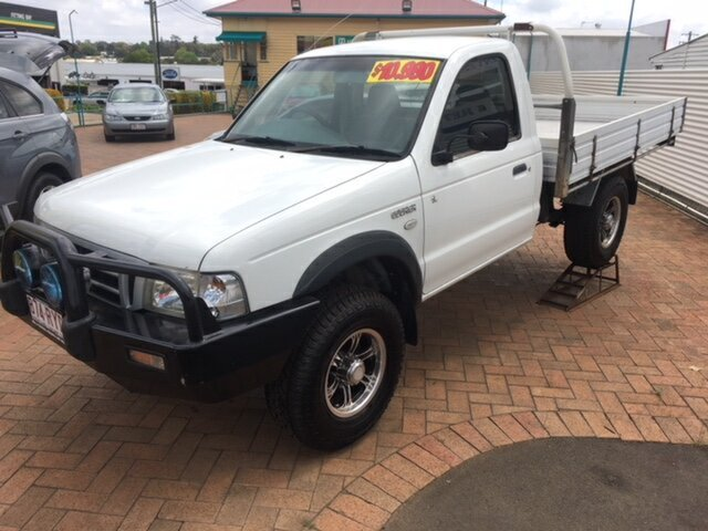 Used Ford Courier GL (4x4), Toowoomba, 2004 Ford Courier GL (4x4) Cab Chassis