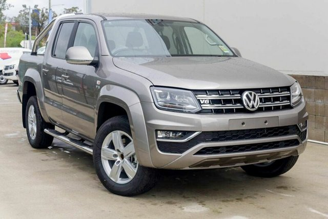Demonstrator, Demo, Near New Volkswagen Amarok TDI550 4MOTION Perm Highline, Southport, 2018 Volkswagen Amarok TDI550 4MOTION Perm Highline Utility