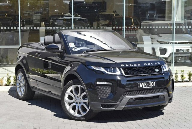 Demonstrator, Demo, Near New Land Rover Range Rover Evoque TD4 180 HSE Dynamic, Berwick, 2017 Land Rover Range Rover Evoque TD4 180 HSE Dynamic Convertible