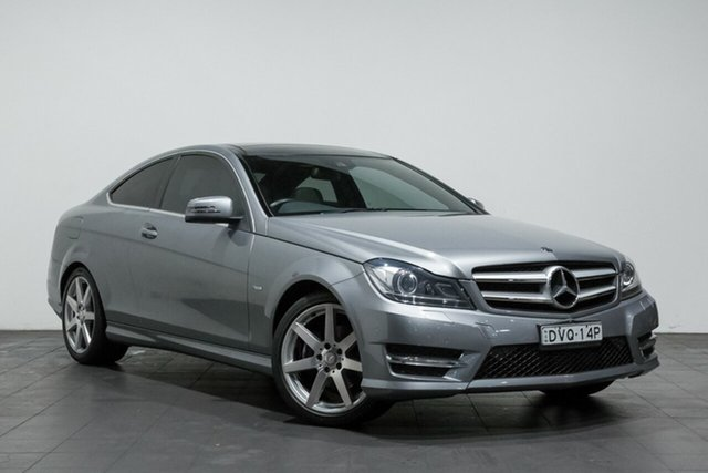 Used Mercedes-Benz C250 CDI BlueEFFICIENCY 7G-Tronic, Rozelle, 2012 Mercedes-Benz C250 CDI BlueEFFICIENCY 7G-Tronic Coupe